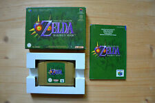 N64 - The Legend of Zelda: Majora's Mask - (OVP, mit Anleitung)
