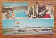 Vintage 60' American Motor Inn Amarillo, TX Texas Highway 60 & 87 Old cars