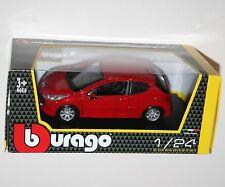 Burago - PEUGEOT 207 (Red) - Model Scale 1:24