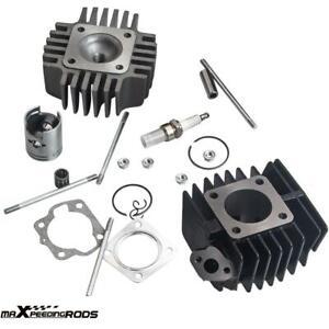 Piston Cylinder Head Top End Kit for Suzuki LT50 1987-2006 11210-04012-0F0