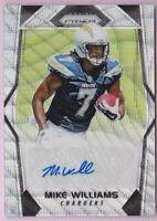 MIKE WILLIAMS RC 2017 PRIZM BLUE WAVE REFRACTOR AUTO #017/149 ROOKIE AUTOGRAPH