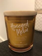 DW HOME RICHLY SCENTED CANDLE HONEYED MELON- MEDIUM JAR 33 HOUR BURN TIME