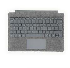 Microsoft Surface Pro Signature Type cover Super Slim Gray Norwegian Layout