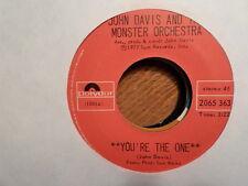 "CANADA POLYDOR 7"" 45 RECORD/JOHN DAVIS/ YOU'RE THE ONE/THE MAGIC IS YOU/EX VINYL"