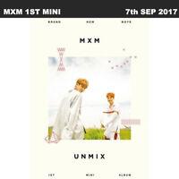 MXM Unmix 1st Mini Album A ver. CD+Photobook+PhotoCard+Standing Photo KPOP