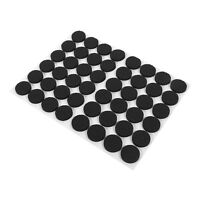 48pcs Non-slip Self Adhesive Floor Protector Sofa Table Chair Round Feet Pads lj