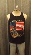 VTG 1991 FLSTC Heritage Softail Harley Davidson Tank Top T-shirt sz M