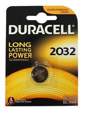 10x DURACELL CR2032 Batteria A Bottone Al Litio 3 V 2032 DL2032/CR/BR2032 - NUOVO
