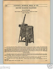 1936 PAPER AD 8 PG Dexter Washing Machine Wringer Washer