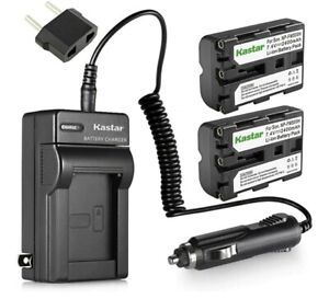 Kastar NP-FM500H Battery Wall Charger for Sony  & Sony DSLR-A & Alpha NEW