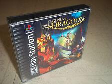La leyenda de Dragón.PS1 Funda + incrustaciones NTSC únicamente. sin juego