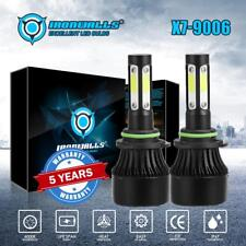 CREE 9006 HB4 1700W 255000LM 4-Sided LED Headlight Kit Hi/Lo Power Bulb 6000K