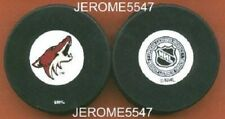 Phoenix Coyotes howl 2002-2003 Auto Style Nhl Puck - #Bl