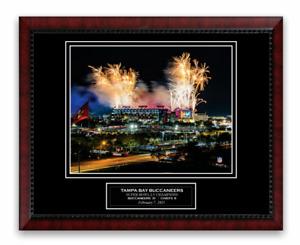 Raymond James Stadium Photo Framed to 11x14 Tampa Bay Buccaneers Super Bowl LV