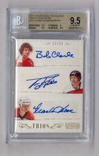 Bobby Clarke M. Howe & Kerr 2013 Panini National Treasures Auto 31/50 BGS 9.5 10