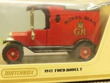 Matchbox Yesteryear Ford Model T 1912 Royal Mail GR Y12