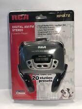 Vintage RCA Digital AM/FM Stereo Cassette Player RP1872 Walkman NEW/SEALED