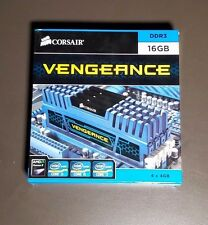 16GB (4x4GB) Corsair Vengeance DDR3 PC3-12800 DIMM 1600 MHz Memory Lot Of 4