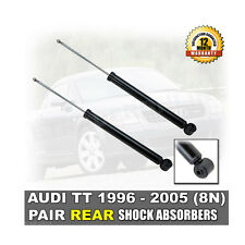 AUDI TT 1.8 (8N) REAR SHOCK ABSORBERS NEW 1998 - 2006 (PAIR) SHOCKS SHOCKERS