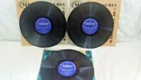 Music Treasures Of The World-lot of 3 CLASSICALS-Schubert-Beethoven-Strauss-ect