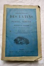 Théâtre complet des Latins comprenant Plaute, Térence, et Sénèque le tragique