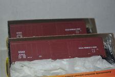 2 Roundhouse 12008 GM&O 50' Single Door Box Car Ho Scale Kit