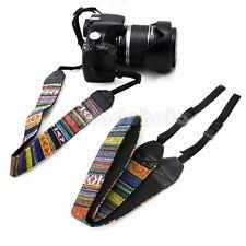 Práctico Correa Cuello Hombro para Cámara Nikon Canon Sony Panasonic SLR DSLR