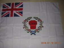 British Empire Flag 2nd Battalion 71st Regiment of Foot Colours Ensign 120X120cm