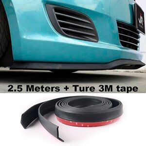 For TOYOTA Bumper Lip  Side Skirt Body Kit Rear Bumper Tuning Ture 3M Tape