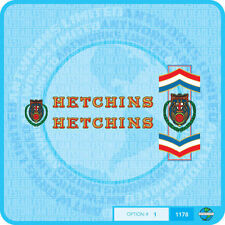 Hetchins Bicycle Decals Transfers - Stickers - Set 2