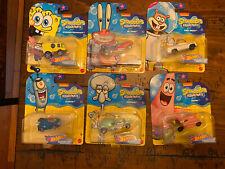 SpongeBob - SpongeBob SquarePants Character Cars - Hot Wheels (2020) Entire Set