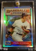 1993 PAUL O'NEILL TOPPS FINEST REFRACTOR #170 YANKEES   (701)