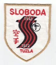 FK SLOBODA TUZLA Football Club Soccer Patch 1972. Bosnian vintage patch