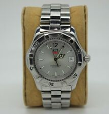 Tag Heuer Professional Men's Watch WK1112-1 - 37mm Watch Men's Silver Dial