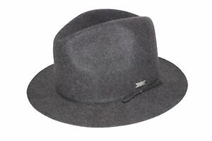 Coal Mens The Drifter Fedora Trilby Wool Cap Hat Small $105