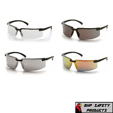 Pyramex Surveyor Safety Glasses Black Frame Work Eyewear Sunglasses 1 Pair