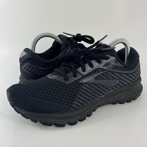 Brooks Ghost 12 Black Running Shoes 1203051B040 Women's Size 8.5 B