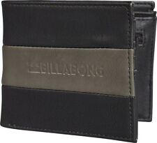 BILLABONG MENS WALLET.NEW TRIBONG BIG BILL FAUX LEATHER NOTE/COIN PURSE 8S 07 19