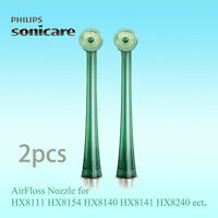 2x Genuine Philips Sonicare AirFloss Nozzle for HX8111/HX8211/HX8240/HX8140