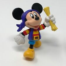 "Disney Mickey Mouse Pirate PVC Figure 3"" Hasbro"