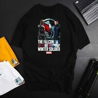 Marvel The Falcon And The Winter Soldier Poster TShirt  unisex T-Shirt
