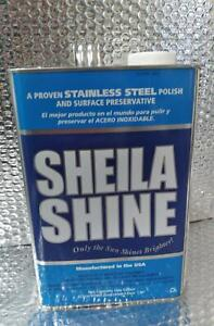 Sheila Shine Stainless Steel Cleaner 32SS1 One Gallon
