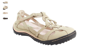 Jambu Spain Taupe Mary Jane Strappy Flat Shoe Women's sizes 6-10/NEW!!!