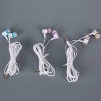 Leuchtende Kopfhörer Kopfhörer-Headset Reißverschluss In-Ear-Ohrhörer-Kopfh K8H0