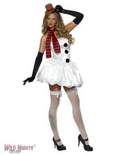 CHRISTMAS COSTUME # FEVER SEXY SNOWMAN/WOMAN SIZE 8-18