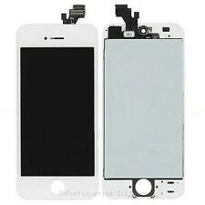 iPhone 5 White LCD Display Touch Screen Digitizer w/ Frame Assembly Replacement