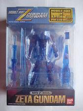 MSIA Gundam Zeta Blue Crystal Color Limited Edition