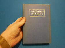 Parnassus en Route- Compiled by Kenneth Horan, 1929, SIGNED