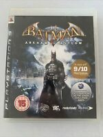 "Batman Arkham Asylum for  Playstation 3  PS3 ""FREE UK P&P"""