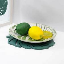 Green Jungle Artificial Tropical Turtle leaf Hawaiian Party Table Decoration FW